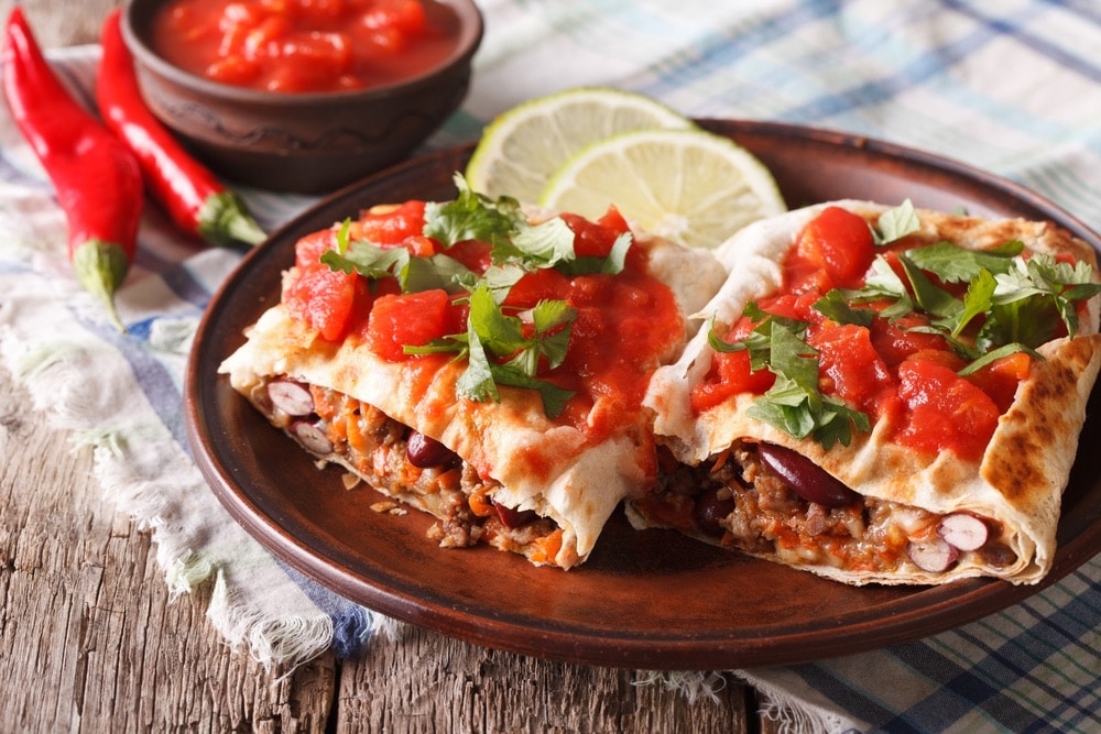 Mexican chimichanga