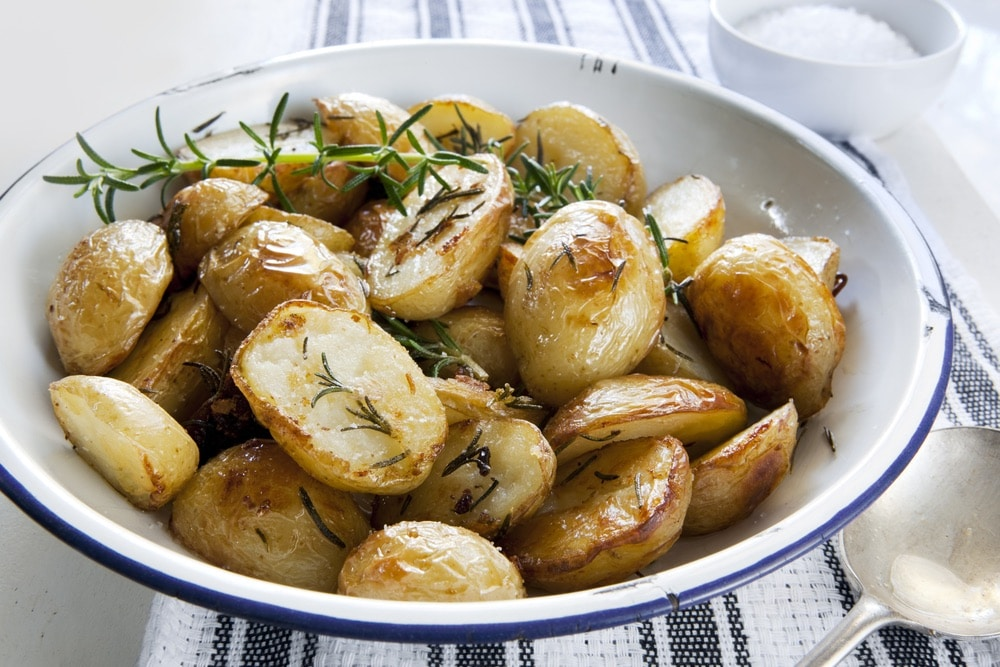 Roasted Rosemary Baby Potatoes