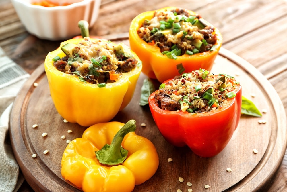What Goes with Stuffed Peppers